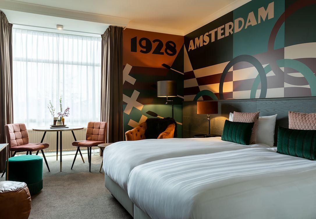 Deluxe kamer met twee éénpersoonsbedden